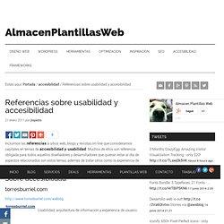 Referencias sobre usabilidad y accesibilidad