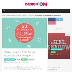 50 Recursos de Referências essenciais para Designers