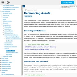 Referencing Assets