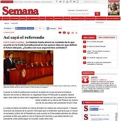 Así cayó el referendo, Articulo Impreso Archivado