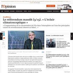 Le référendum maudit (3/15). « L'éclair climatosceptique » par Benoît Rittaud