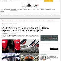 SNCF, Air France, Sephora, Smart: de l'usage explosif du référendum en entreprise - Challenges