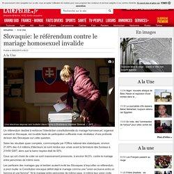 Slovaquie: le référendum contre le mariage homosexuel invalide - 08/02/2015