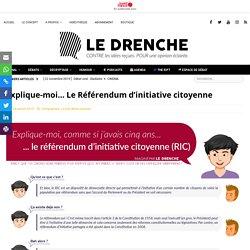 Explique-moi... Le Référendum d'initiative citoyenne - Le Drenche