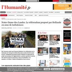 Notre-Dame-des-Landes. Le référendum proposé par Hollande en zone de turbulences