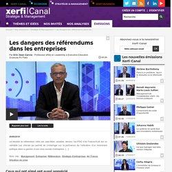 Eric-Jean Garcia, Sciences-Po Paris - Les dangers des référendums dans les entreprises - Stratégie & Management