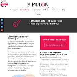 Référent numérique -SIMPLON