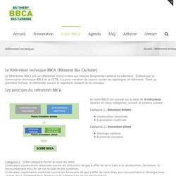 Association BBCA / Label / Référentiel technique