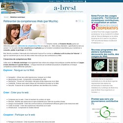 Référentiel de compétences Web (par Mozilla)