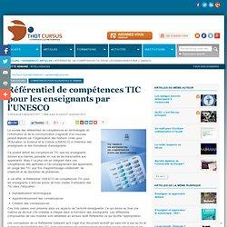 Référentiel de compétences TIC pour les enseignants par l'UNESCO