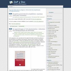 » référentiel de compétences info-documentaires - ZAP y Doc