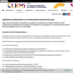 Référentiel enseignant.e.s et formateurs/formatrices CLEMI- CLEMI