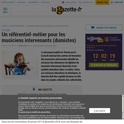 Un référentiel-métier pour les musiciens intervenants (dumistes)