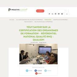 Référentiel National Qualité RNQ Qualiopi Guide