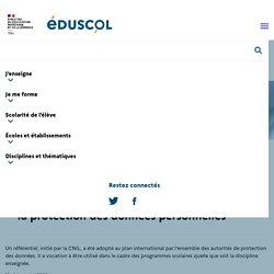 Le référentiel CNIL de formation des élèves à la protection des données personnelles