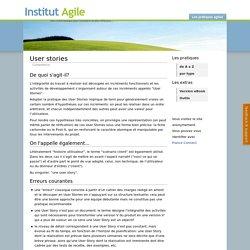 Référentiel des pratiques Agiles