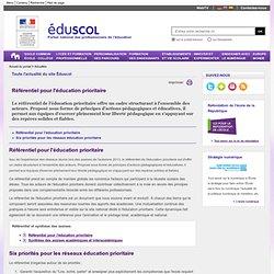 Actualités - Référentiel pour l'éducation prioritaire