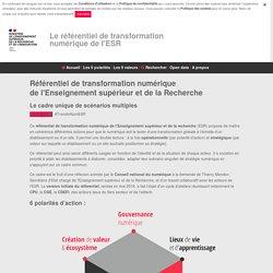 Référentiel de transformation numérique — Plateforme open data (données ouvertes)