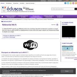 Référentiel Wi-Fi - Référentiel Wi-Fi