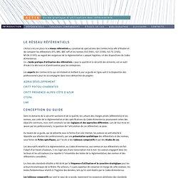 ACTIA - GUIDE PRATIQUE D'UTILISATION DES REFERENTIELS