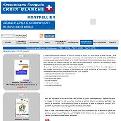 Référentiels Nationaux à télécharger - PSE1 - PSE2 - PSC1 - PAE3 - PAE1 - DPS