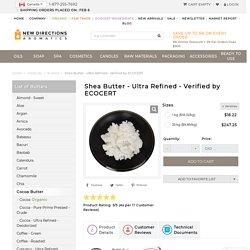 Shea Butter - Ultra Refined & Deodorized African Shea Wholesale Price