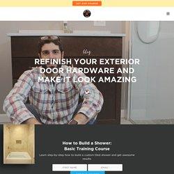 Refinish Your Exterior Door Hardware and Make it Look Amazing