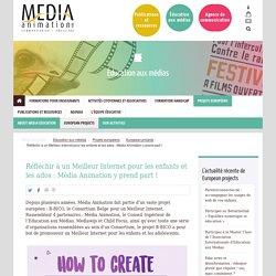 Média Animation : Réfléchir à un Meilleur Internet pour les enfants et les ados