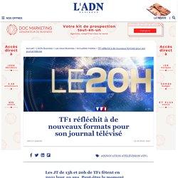 Le groupe TF1 réflechit à un journal télévisé personnalisable