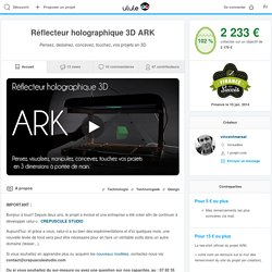 Réflecteur holographique 3D ARK