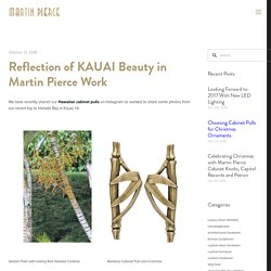 Reflection of KAUAI Beauty in Martin Pierce Work — Martin Pierce