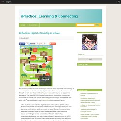 » Reflection: Digital citizenship in schools iPractice: Learning & Connecting