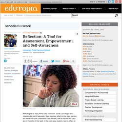 Reflection: A Tool for Assessment, Empowerment, and Self-Awareness