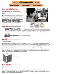 Corner Reflector: Math, Reflection & Light Science Project