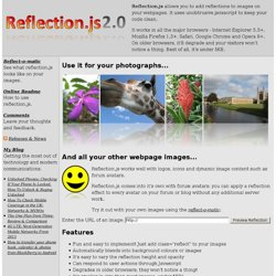 Reflection.js