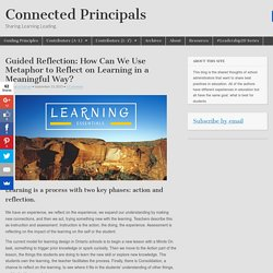 Guided Reflection: How Can We Use Metaphor to Reflect on Learning in a Meaningful Way?
