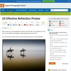 20 Effective Reflection Photos