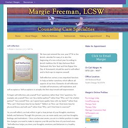 self-reflection | Counseling Care Specialties - Margie Freeman LCSW