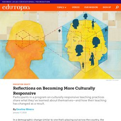 Reflections on Becoming More Culturally Responsive