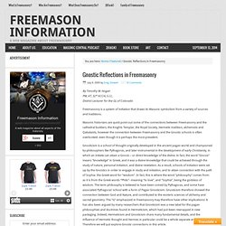 Gnostic Reflections in Freemasonry – Freemason Information