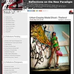 Pattaya Graffiti: Urban Cosplay Model Shoot