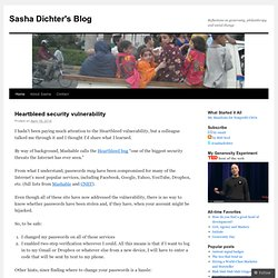 Sasha Dichter's Blog | Reflections on generosity, philanthropy and social change