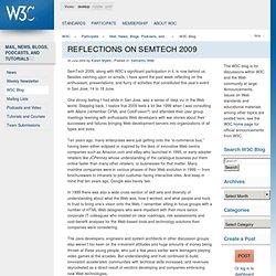 Reflections on SemTech 2009 - W3C Q&A Weblog