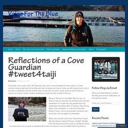 Reflections of a Cove Guardian #tweet4taiji