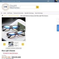 Blue Light Reflective Glasses