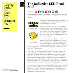 Parking Lock, LED Road Stud, LED Warning Lights