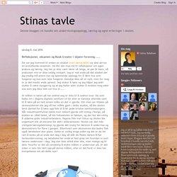 Stinas tavle: Refleksjoner, eksamen og Book Creator i skjønn forening.....
