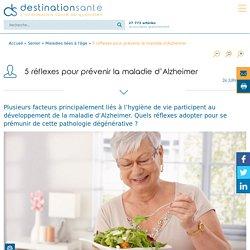 5 réflexes pour prévenir la maladie d'Alzheimer