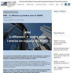 RGPD/GDPR : Règlement européen sur la protection des données