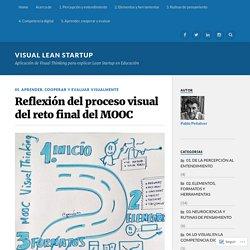 Reflexión del proceso visual del reto final del MOOC – Visual Lean Startup